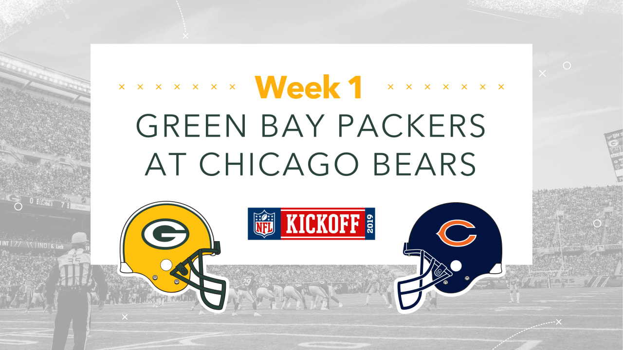 huge selection of 00580 0afda Infographic: Packers-Bears Preview