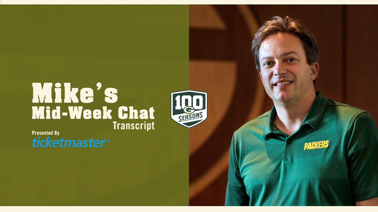 Mike discusses challenges Packers face in his mid-week chat d990e7690