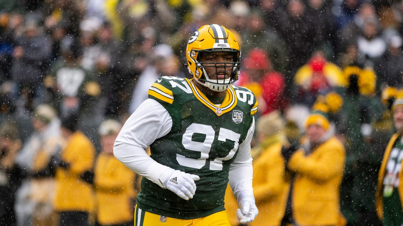 newest collection c230f 50be7 Kenny Clark named Packers' nominee for Walter Payton Man of ...