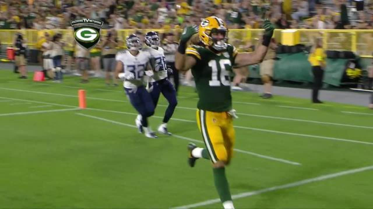 Packers Qb Boyle Hits Wr Kumerow For 52 Yard Td