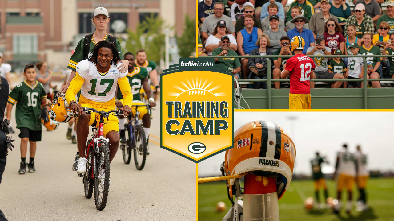 985ab615 Packers training camp to begin July 25; Shareholders meeting set for ...