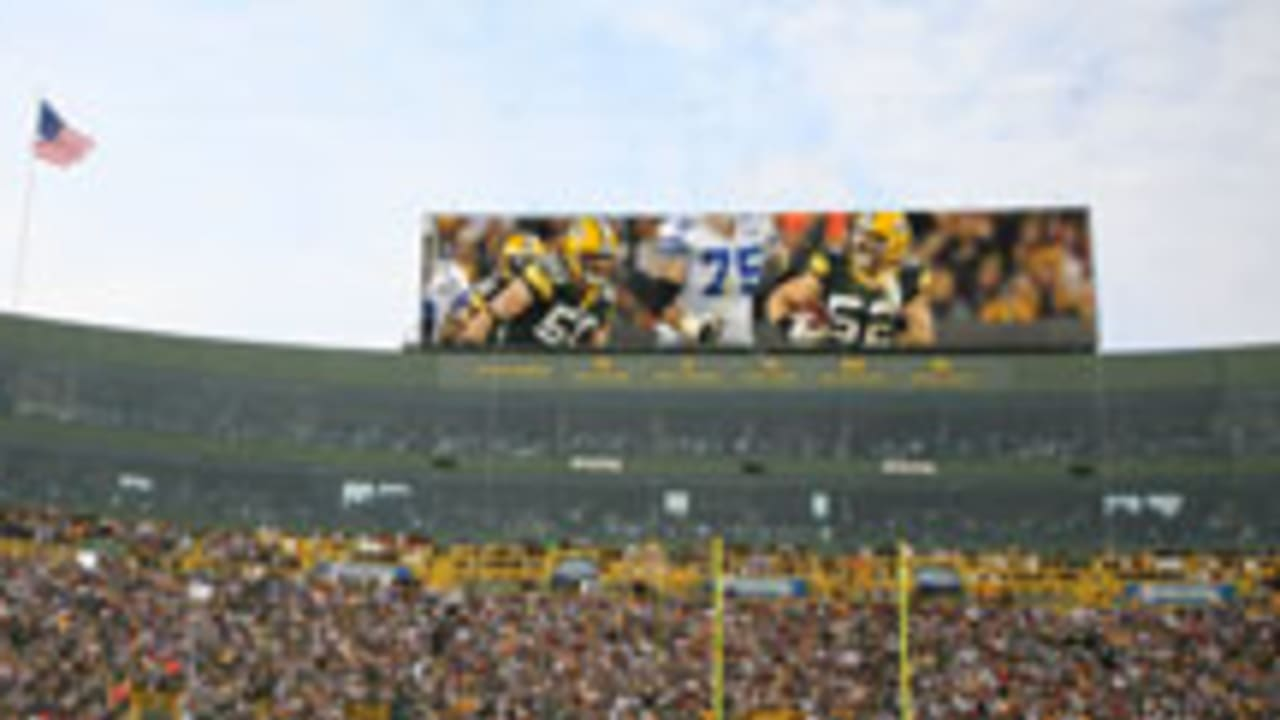 Packers Present New Scoreboard Concept To Stadium Board