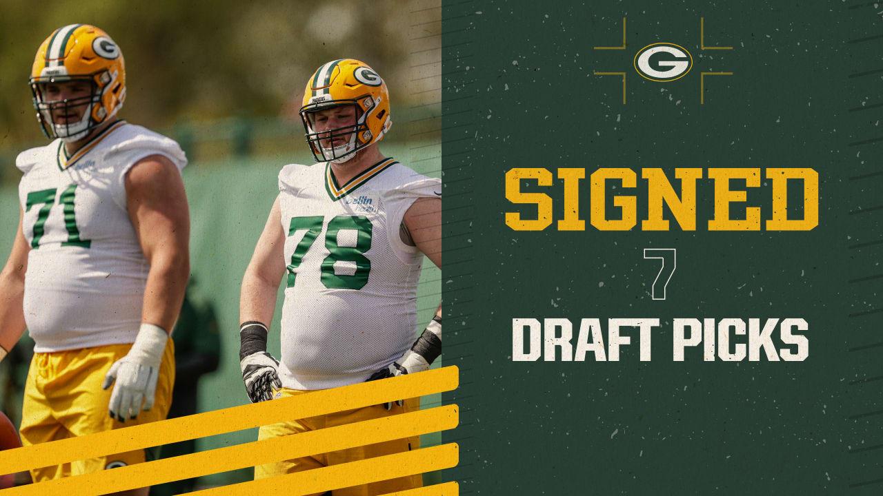 Packers sign seven draft picks