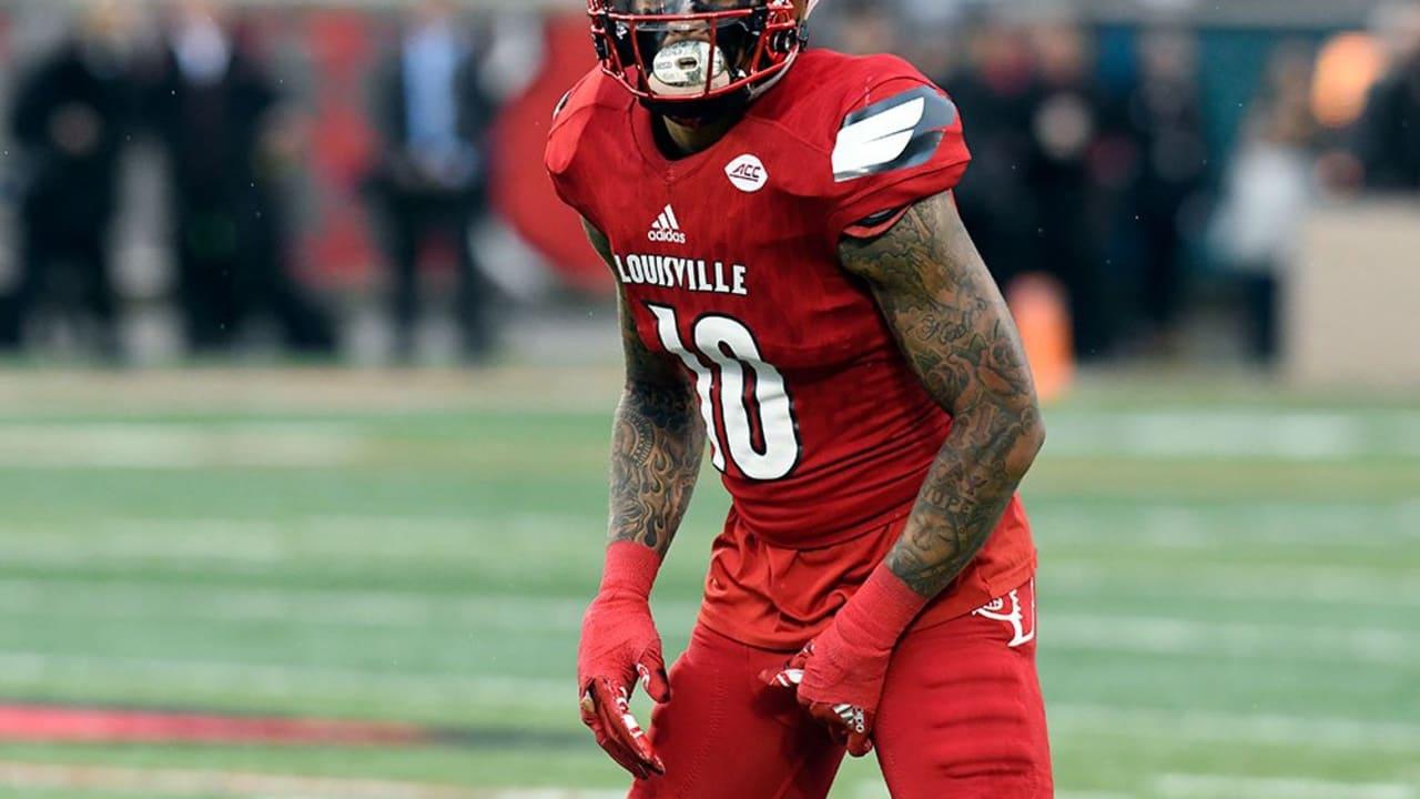 Jaire Alexander Louisville Cardinals Football Jersey - White
