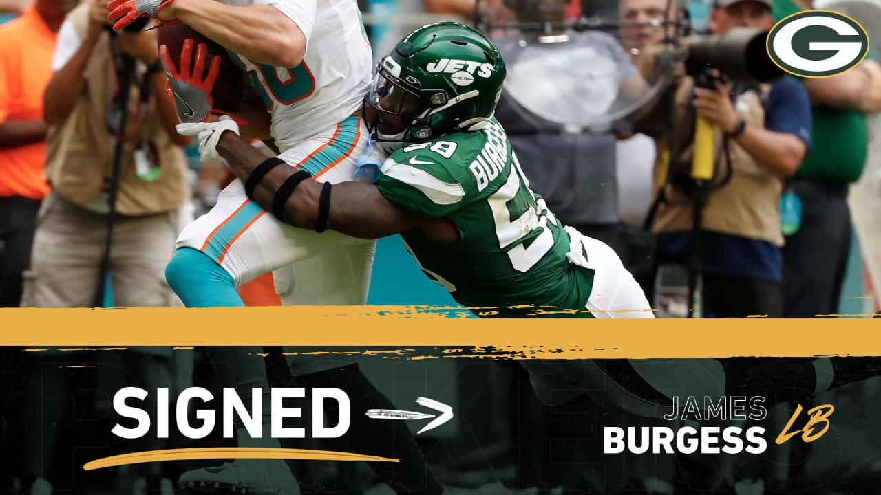 James Burgess NFL Jersey