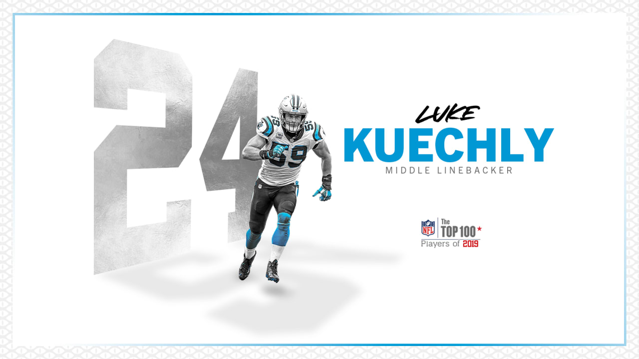 reputable site 02c4f 90899 Luke Kuechly ranked 24th in 2019 NFL Top 100
