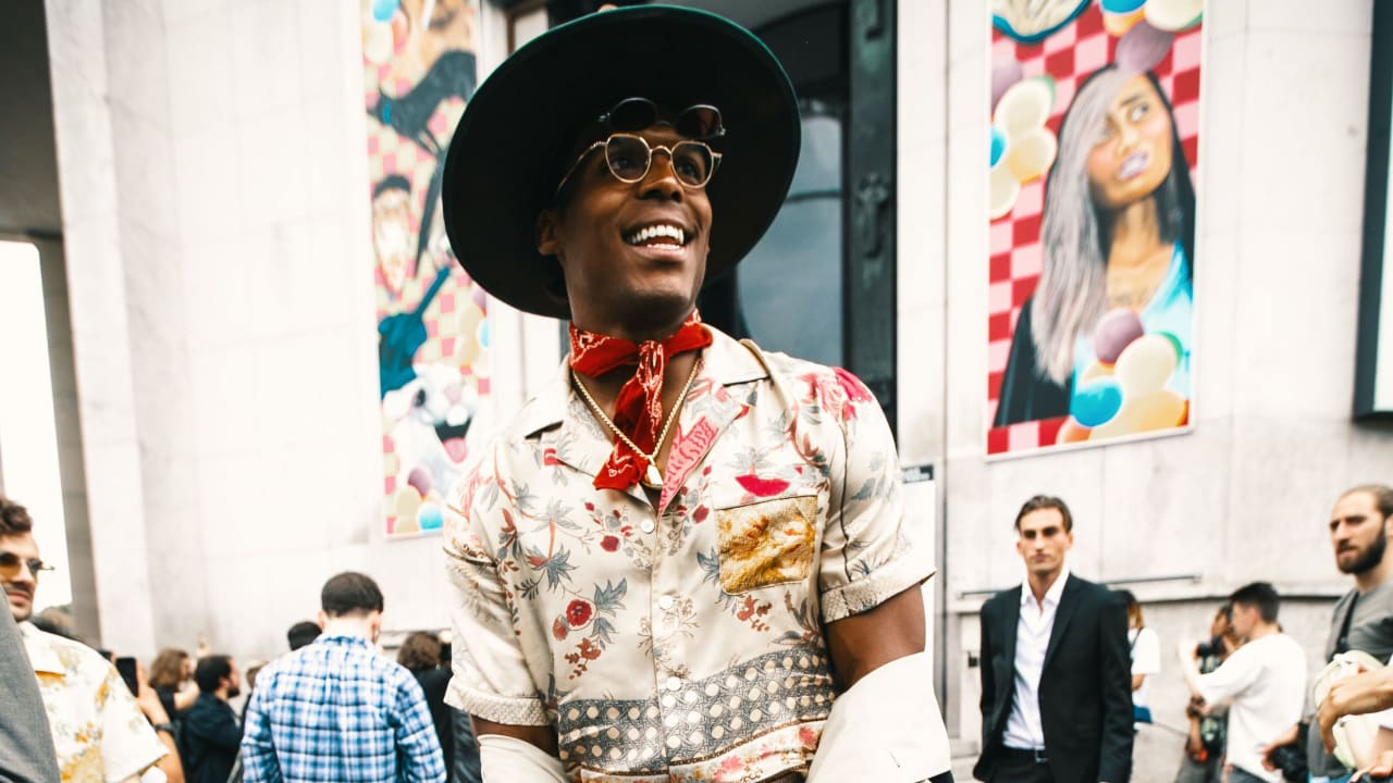 Cam Newton takes his style to Paris