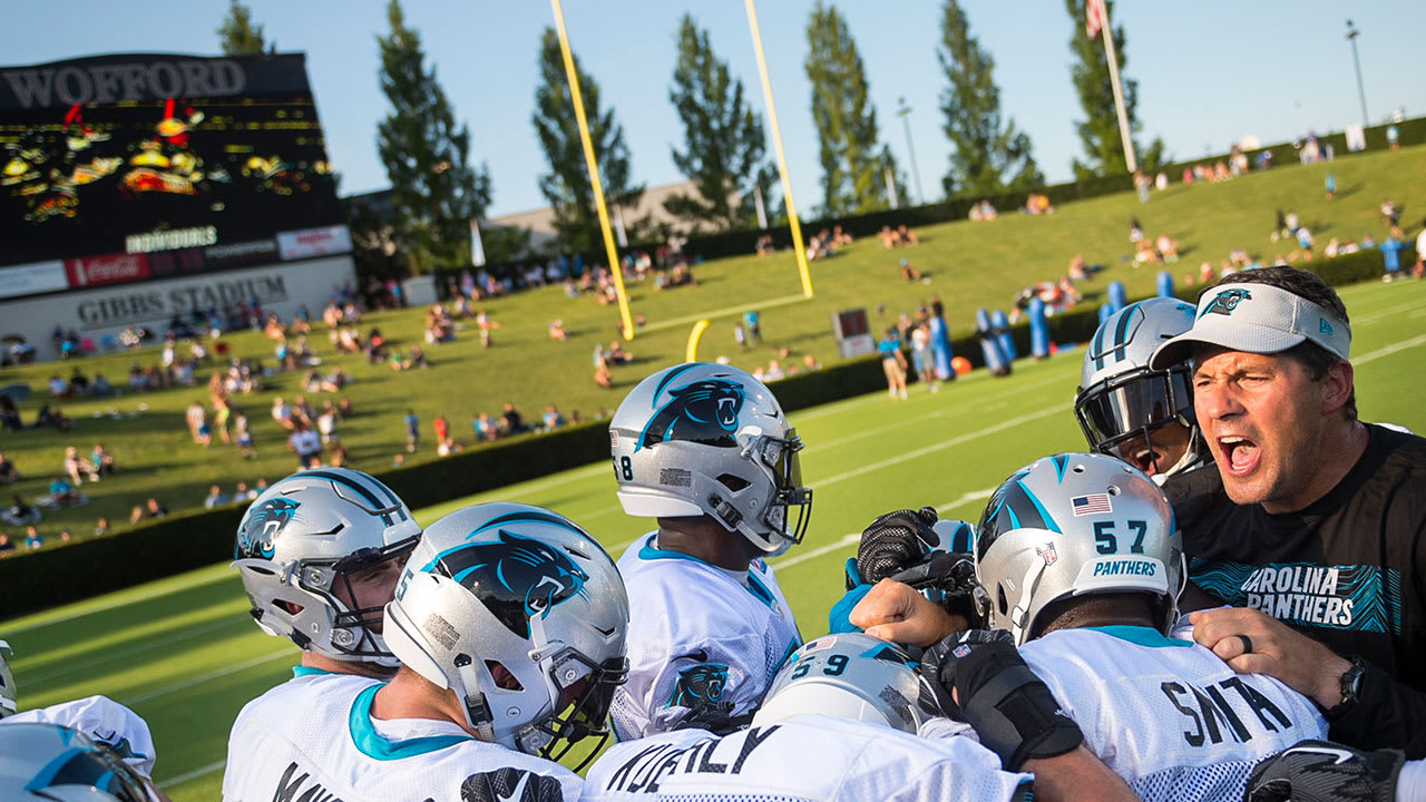 2a3542ac Panthers announce 2019 training camp schedule