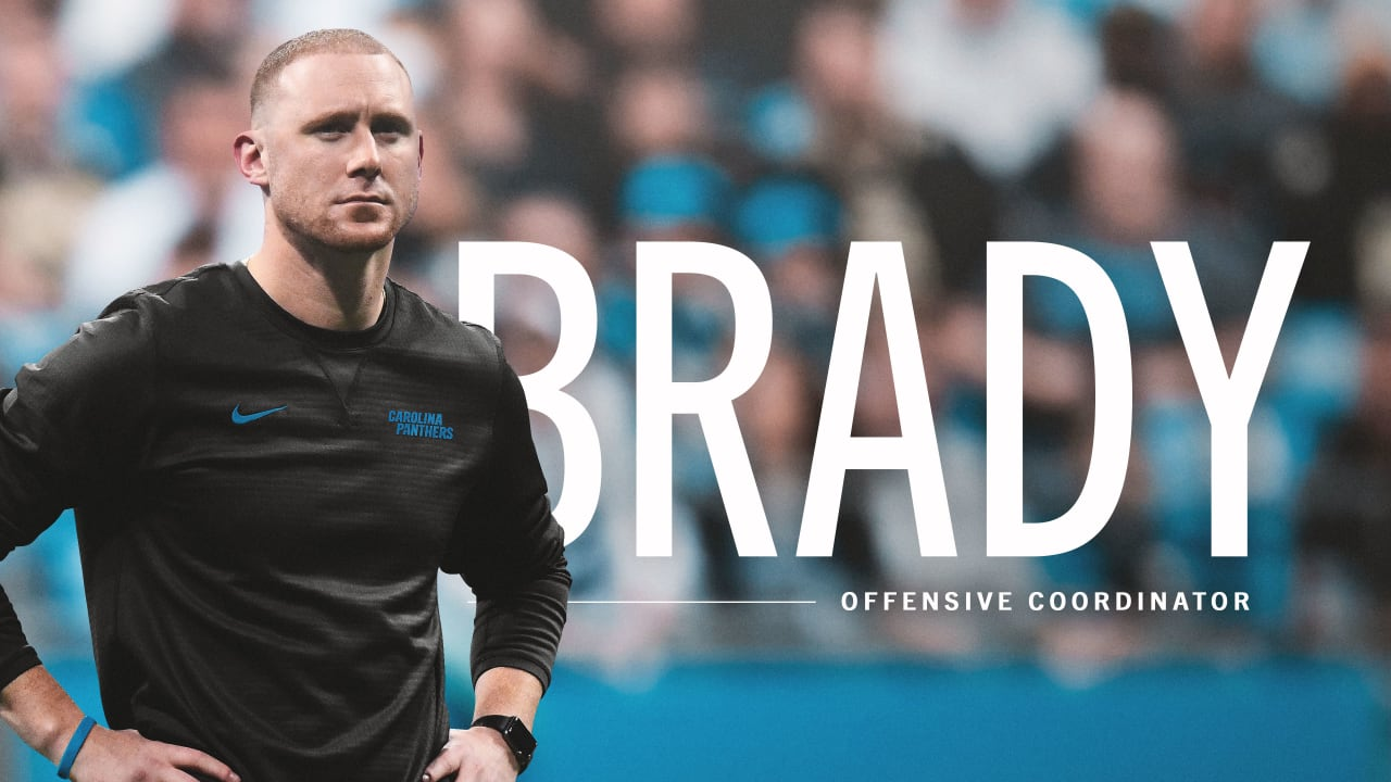 Panthers hire Joe Brady as offensive coordinator