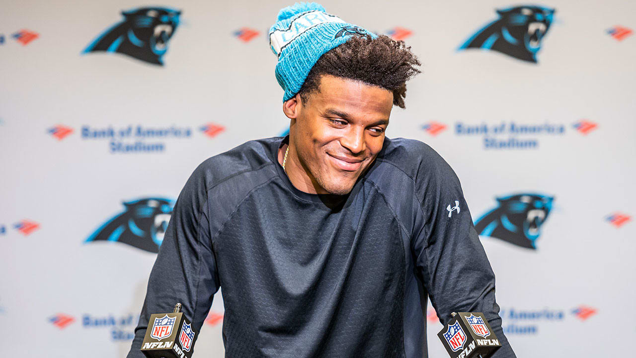 Cam Newton Full Week 8 Press Conference d4aee6e23