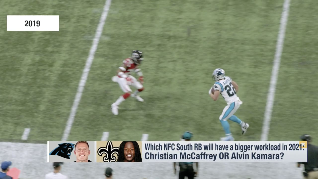 Christian McCaffrey vs. Alvin Kamara: Who will have the bigger workload in 2021? - Panthers.com