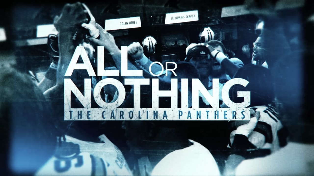 finest selection 5aece 629a0 Amazon's All or Nothing with the Carolina Panthers