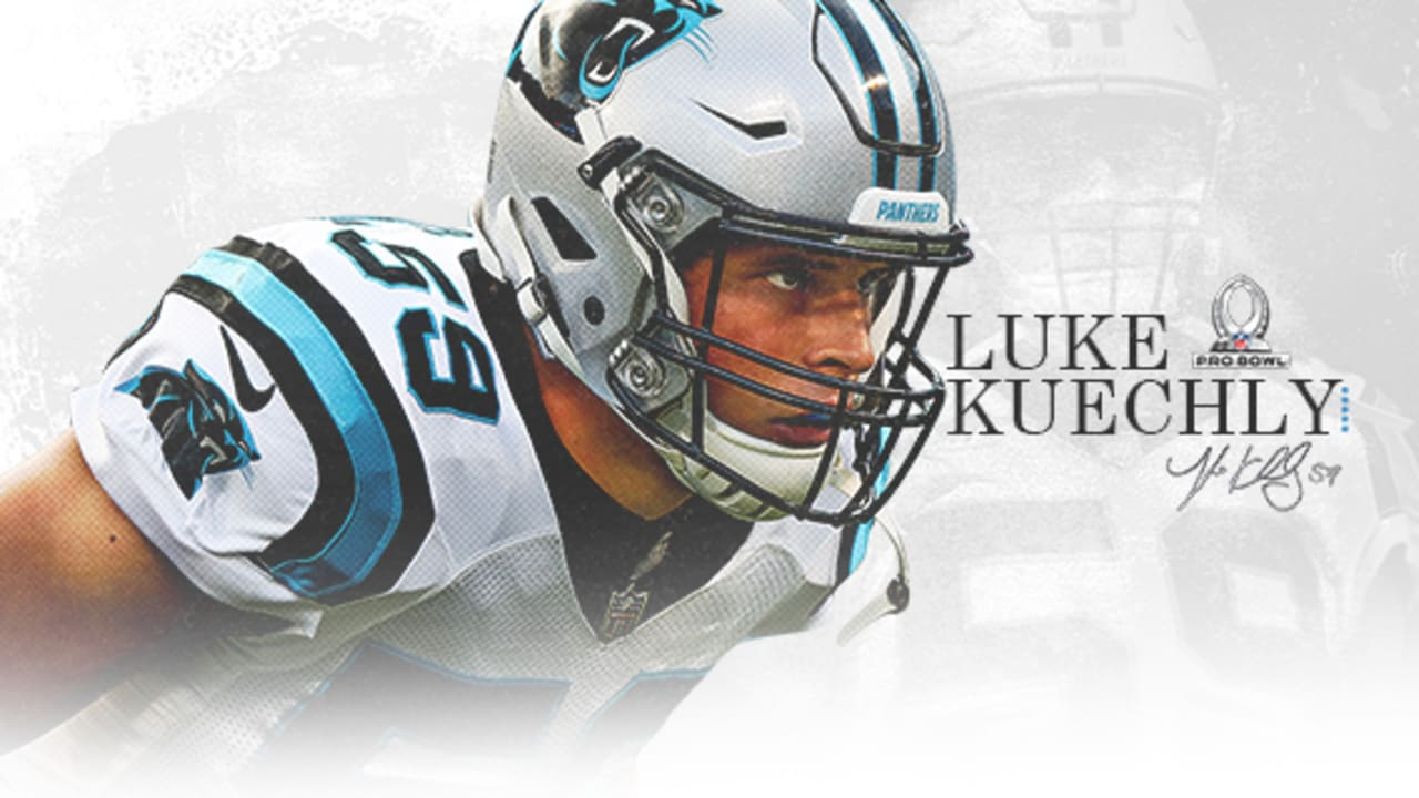 new style 48fdf db3f8 Luke Kuechly only Panther selected to Pro Bowl