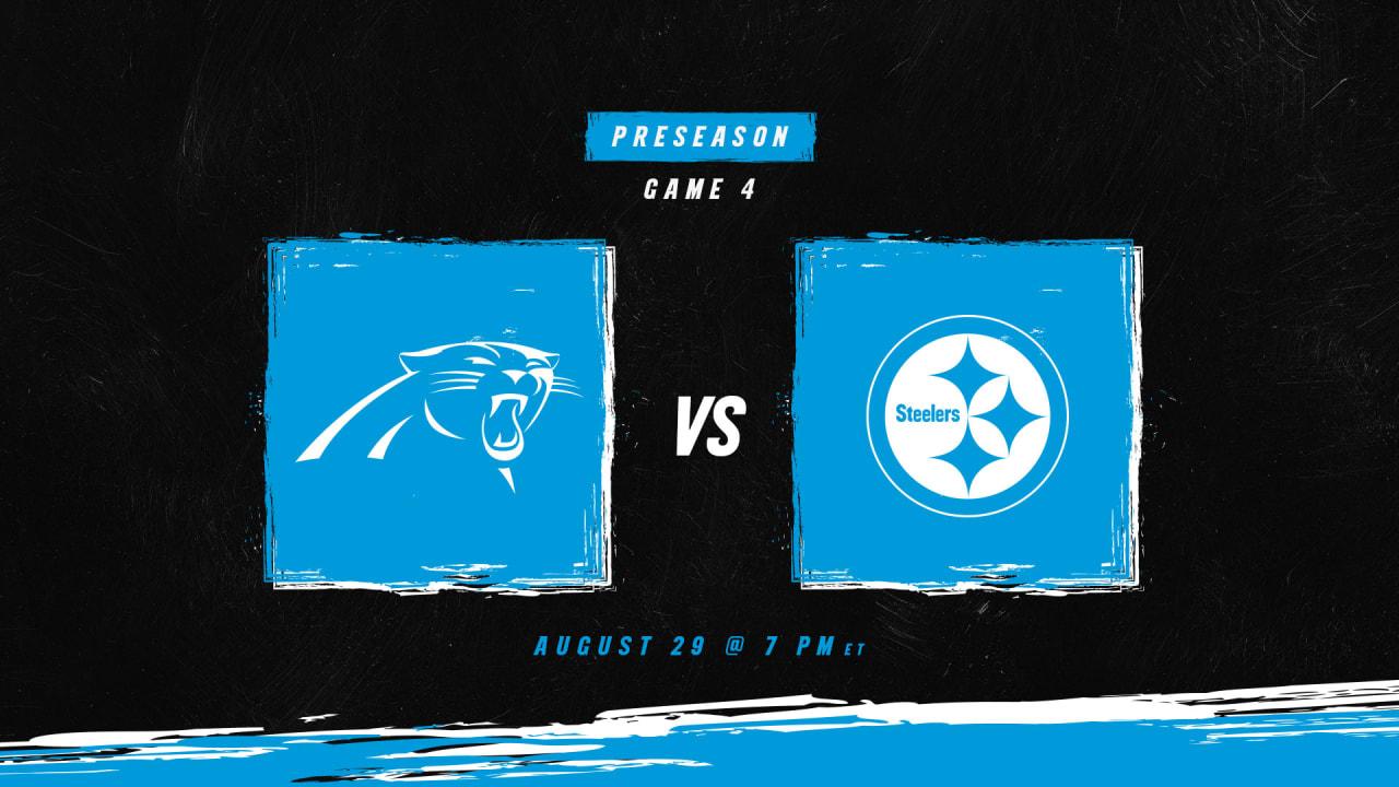 How to watch, listen and follow: Carolina vs. Pittsburgh in Preseason Week 4