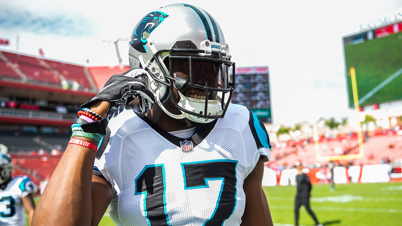 Devin Funchess responds to questions about his contract situation