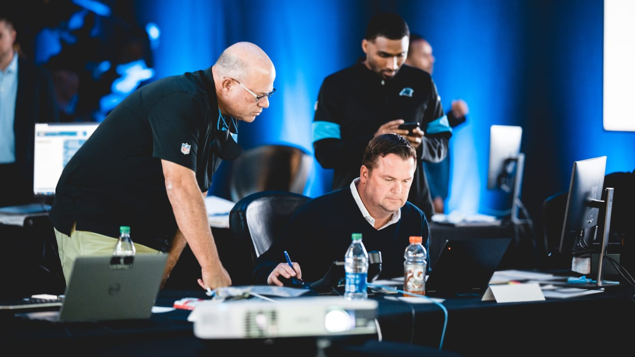 Inside the Draft Room: A weekend of change for the Panthers - Panthers.com