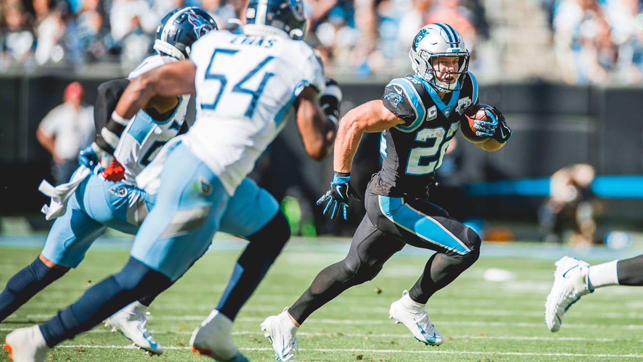 Christian McCaffrey's special season continues with another masterful performance vs. the Titans