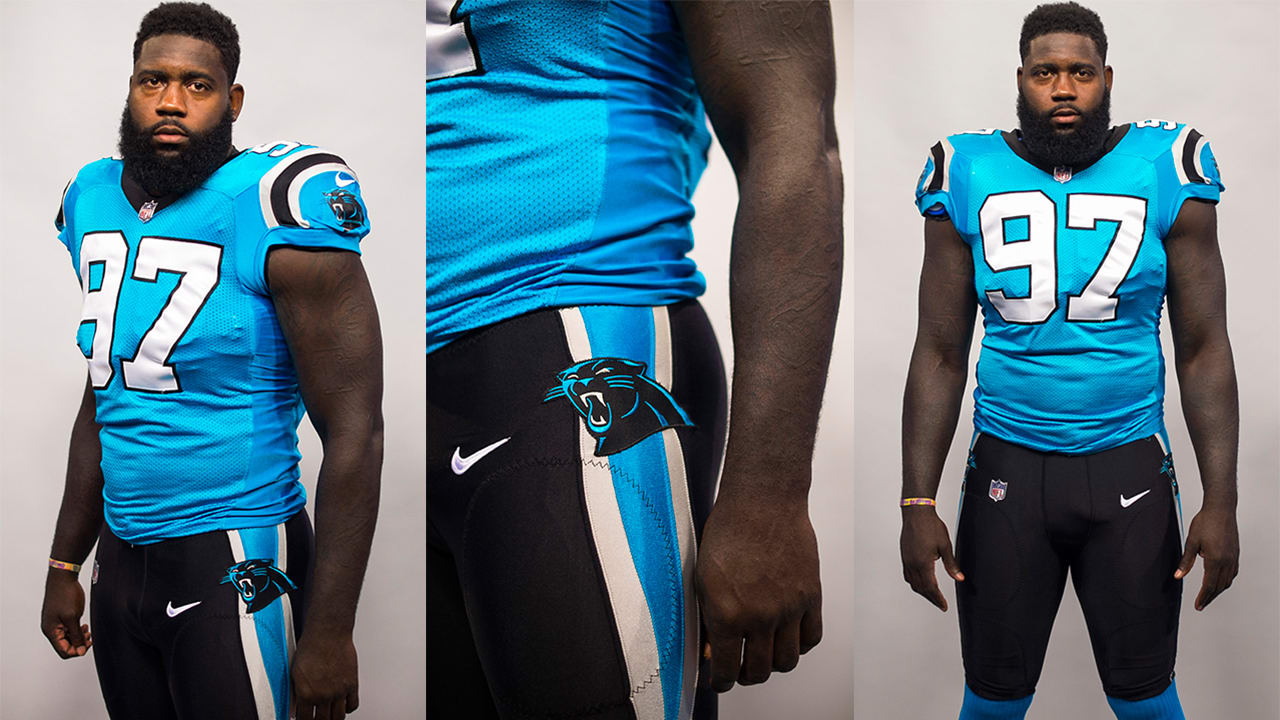 1cb1b6cefb4 Panthers to wear black pants with blue jerseys vs. Patriots