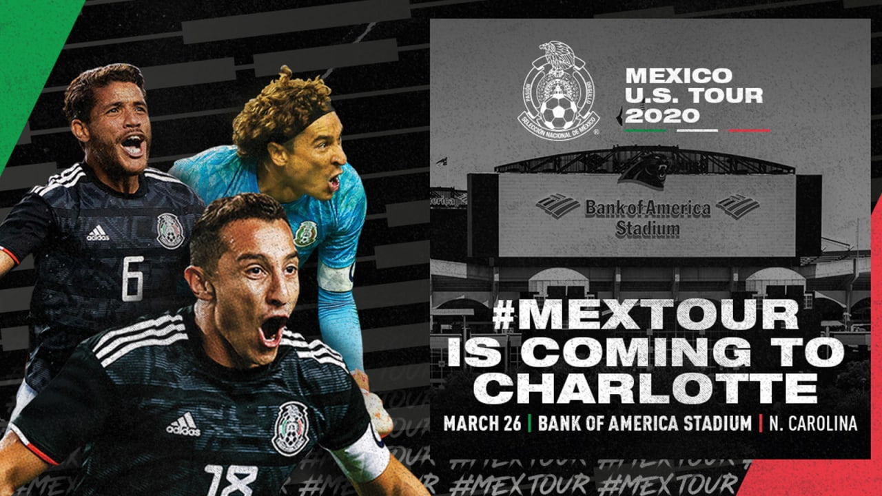 Usa Soccer Team World Cup 2020.Mexican National Soccer Team Coming To Bank Of America