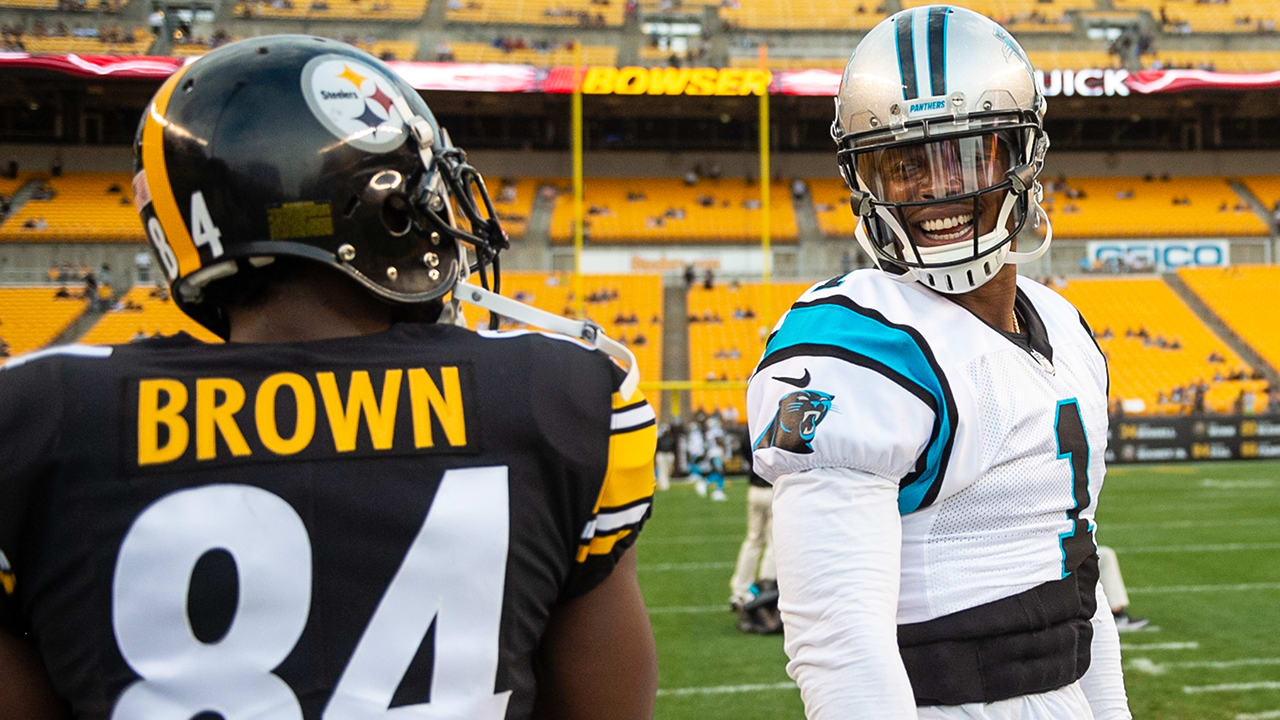 Cam Newton on his admiration for Antonio Brown