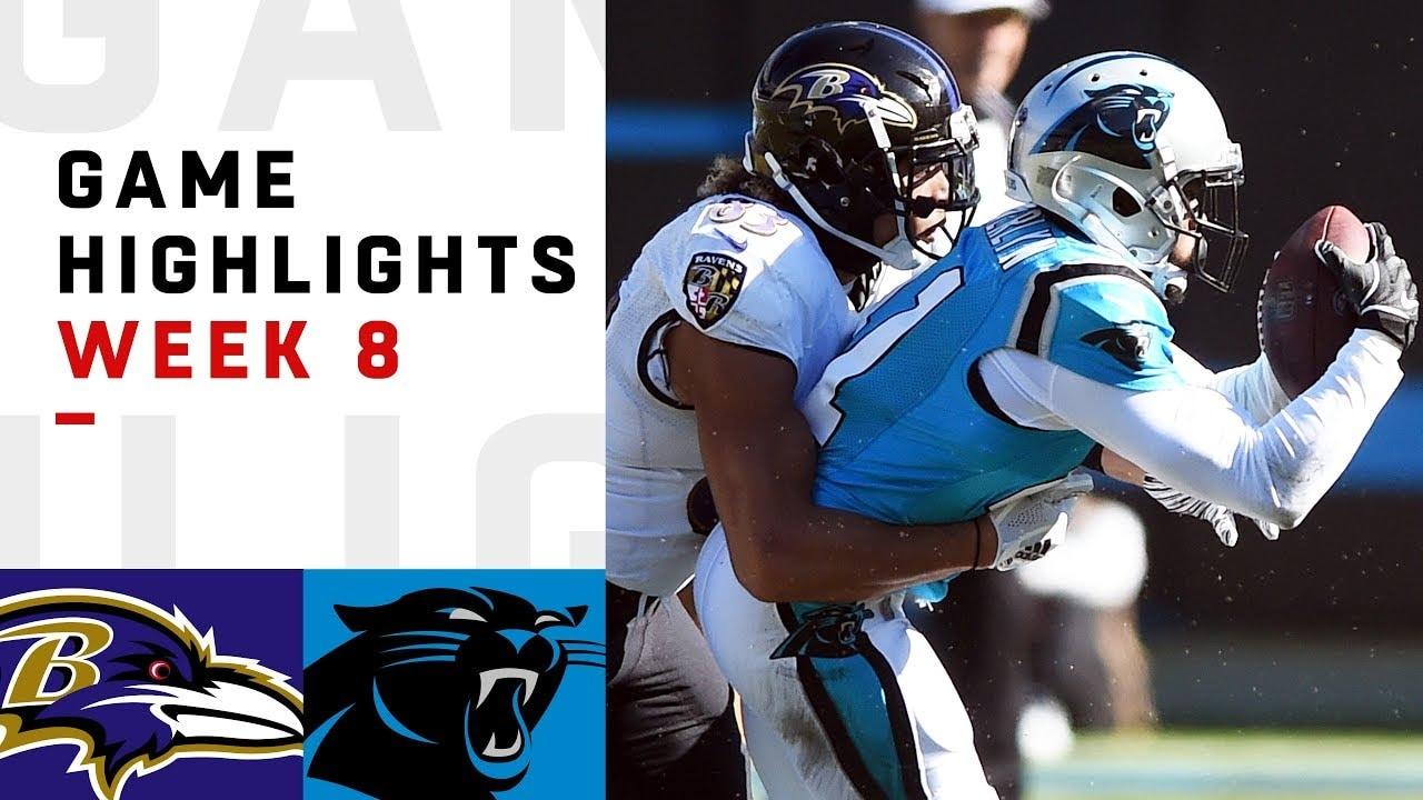 ff0b8464cdeb Highlights  Panthers vs. Ravens