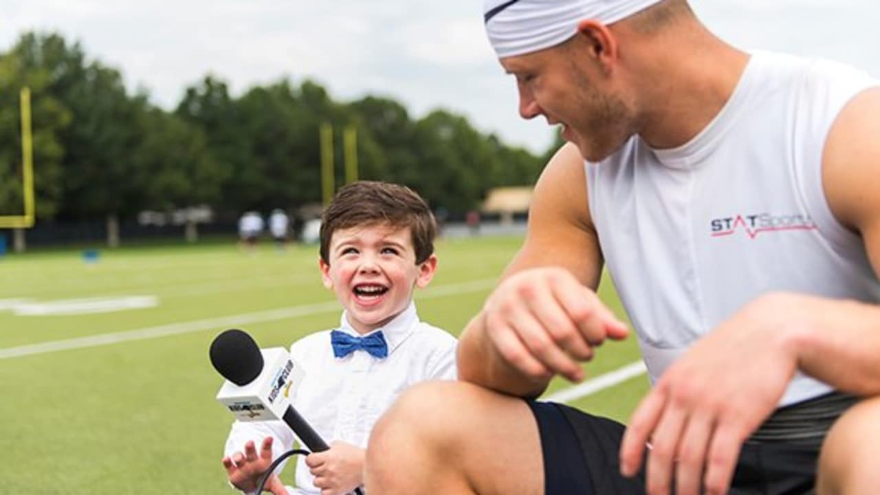f77d5c7a486 Kids Club Reporter: One-on-One with Christian McCaffrey