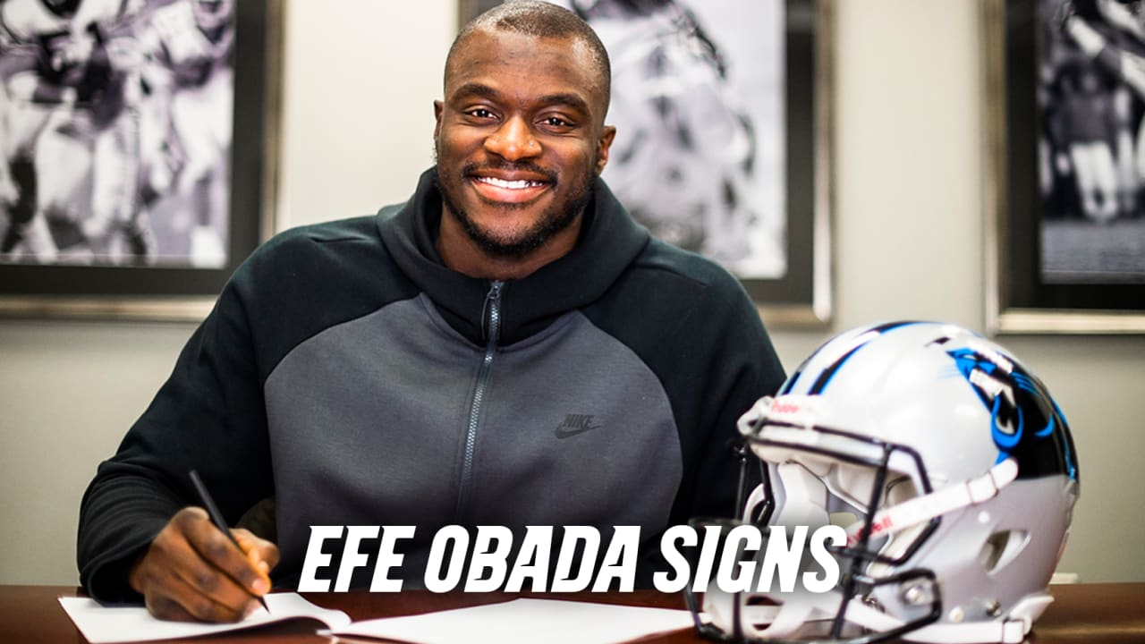 ebb9cb647 Efe Obada signs one-year contract