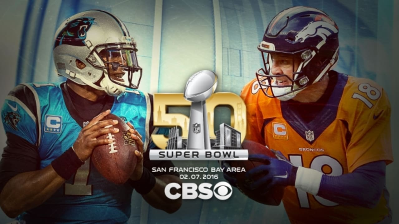9e9121f1 Panthers vs. Broncos in Super Bowl 50