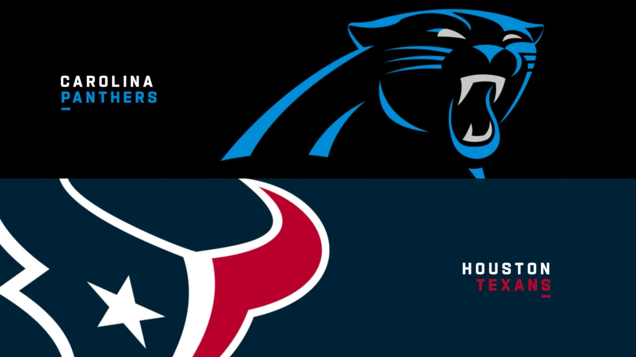 Highlights: Panthers vs. Texans in Week 4