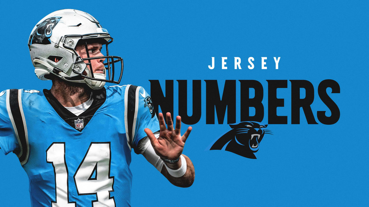 Panthers announce jersey numbers for 2021 additions