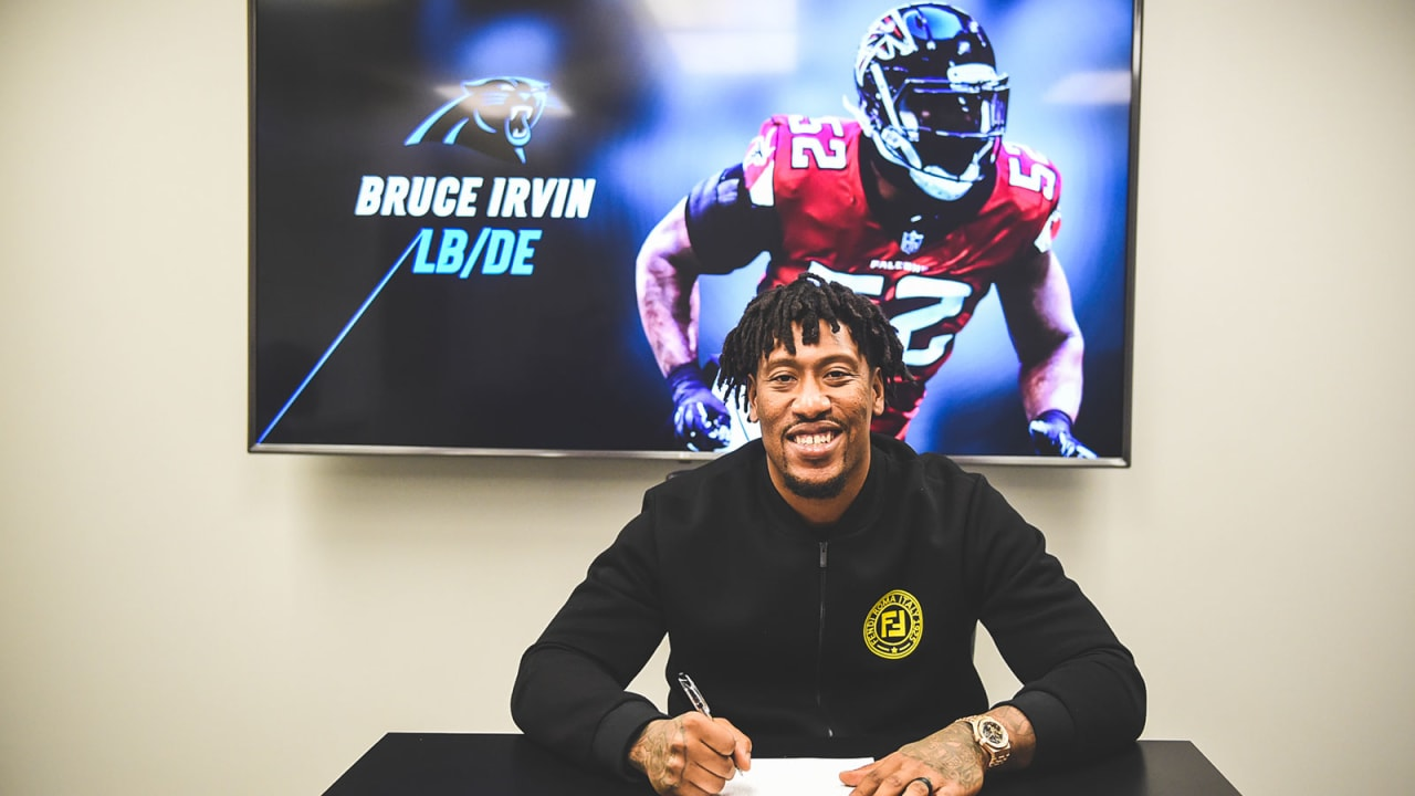 466056e57 Bruce Irvin signs one-year contract with Panthers