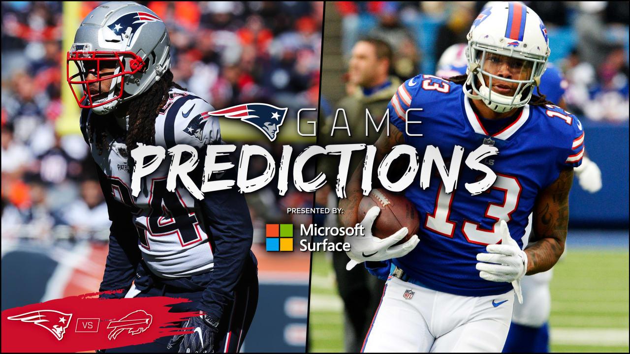 0aeeac1d Game Predictions: Expert picks for Patriots at Bills