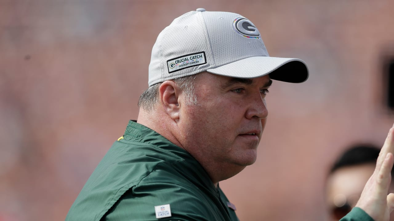 43a0f9b112c1a8 Mike McCarthy 10/31: 'Belichick is the best in football'