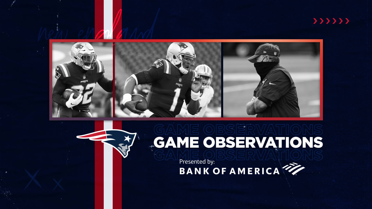 Game Observations: Patriots have no answers for 49ers