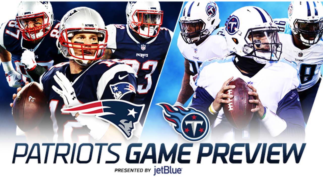 86eb7e5a Game Preview: Titans at Patriots