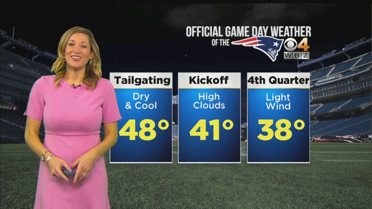 WBZ Weather Forecast for Patriots vs. Packers 23d9f4fda