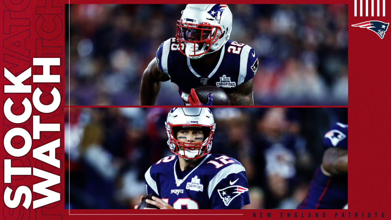 Stock Watch: James White, Patriots offense among Week 1