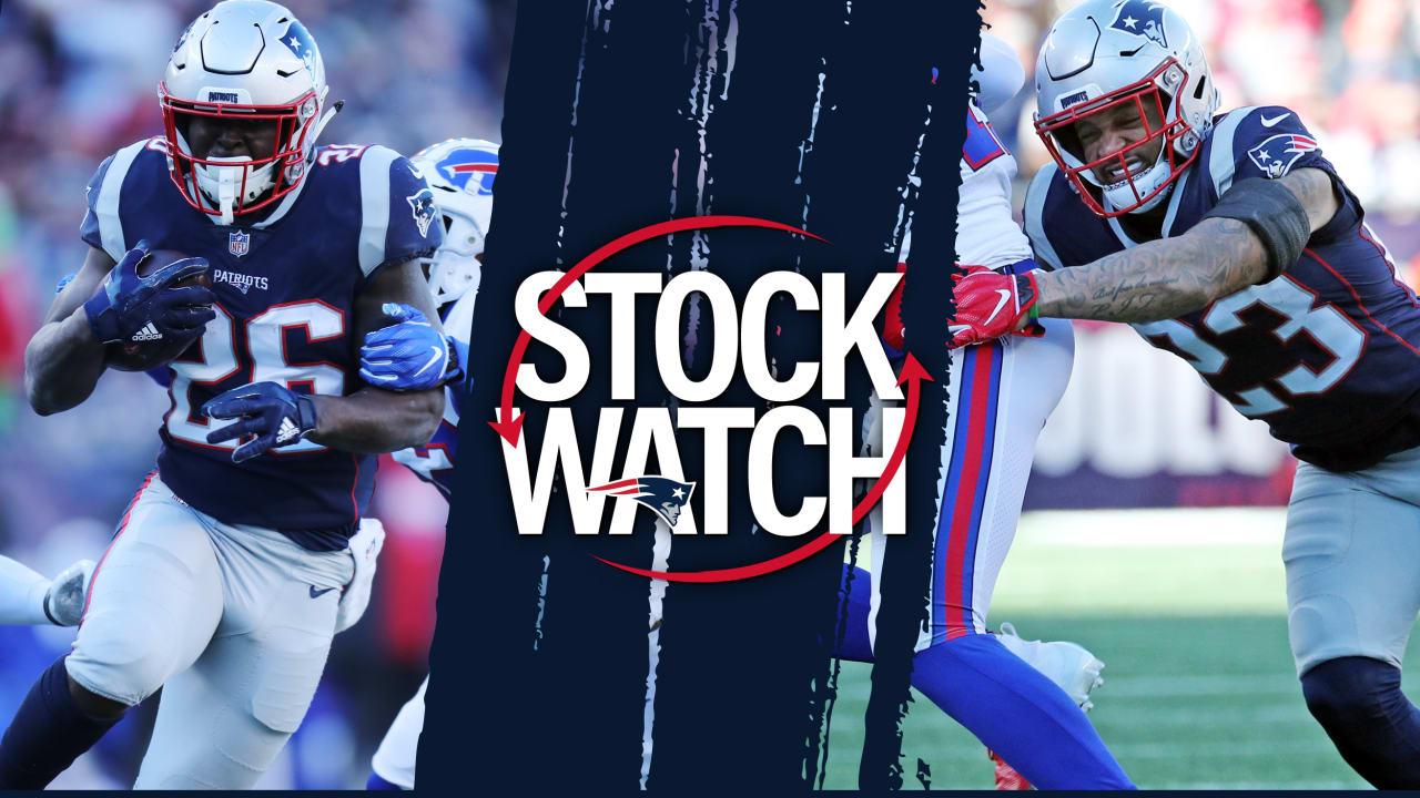 cd7a4583cfd Stock Watch: Michel helps Patriots run away from Bills