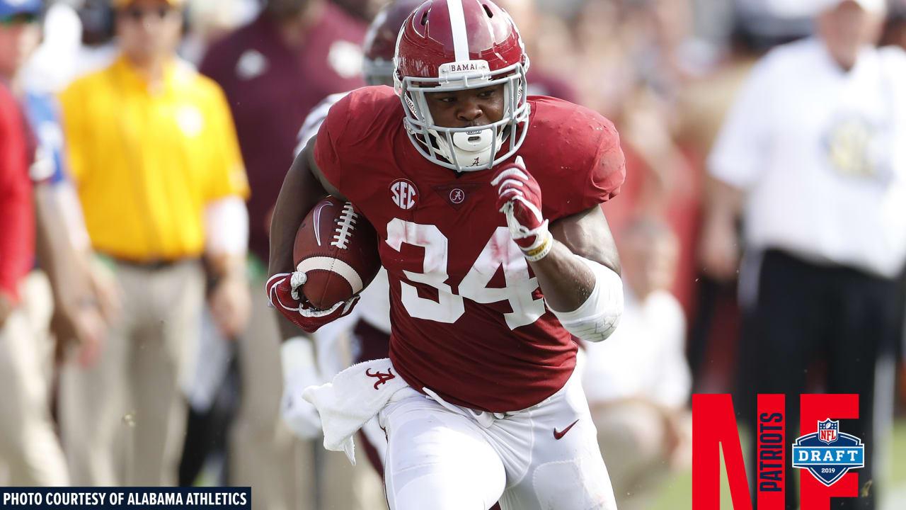 Patriots Com Draft Profile Rb Damien Harris