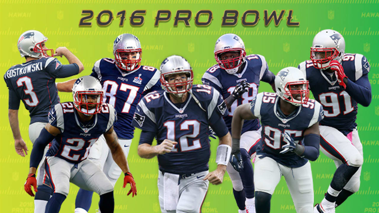 Seven Patriots selected to NFL Pro Bowl squad