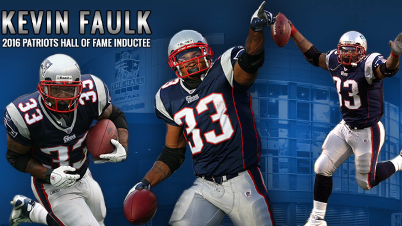 Kevin Faulk elected into Patriots Hall of Fame