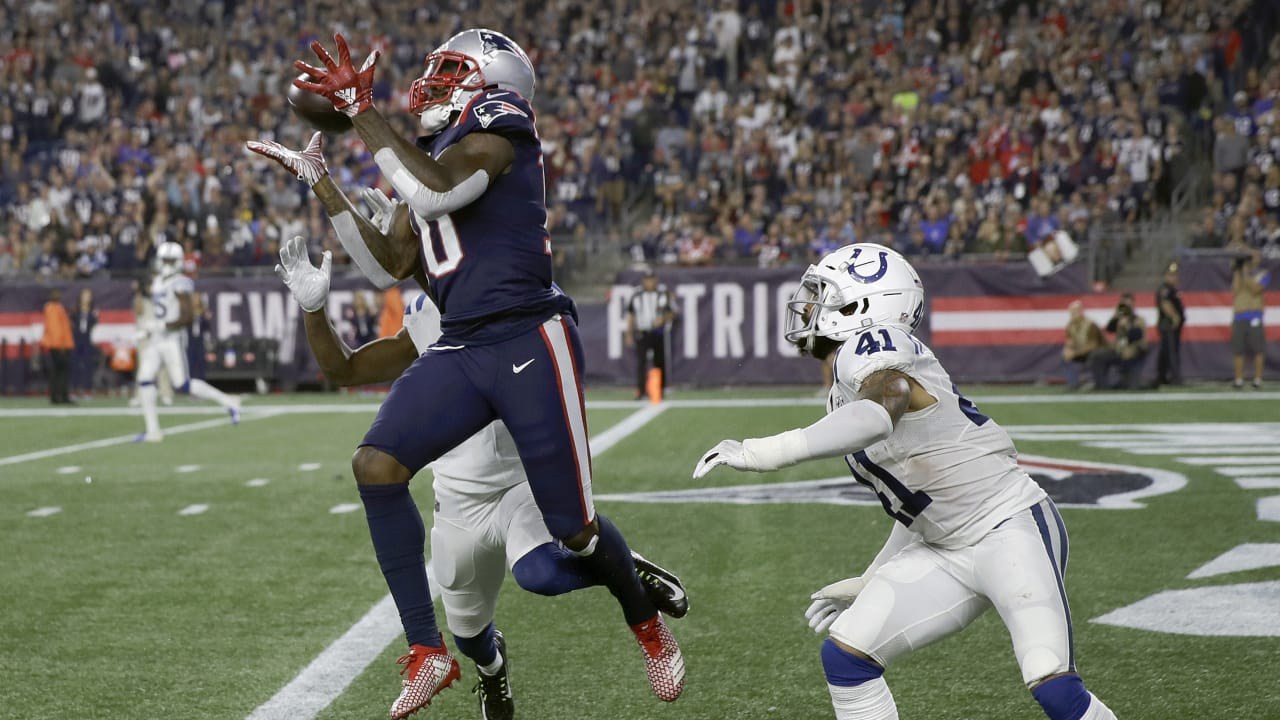 aa73accff00 Can't-Miss Play: Brady tallies 500th TD pass on epic throw to Josh Gordon
