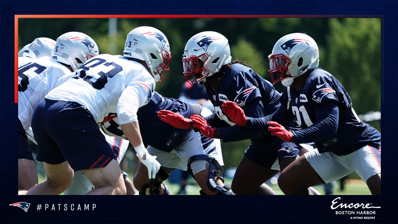 Day 5 blogservations: Front seven offers many options - Patriots.com
