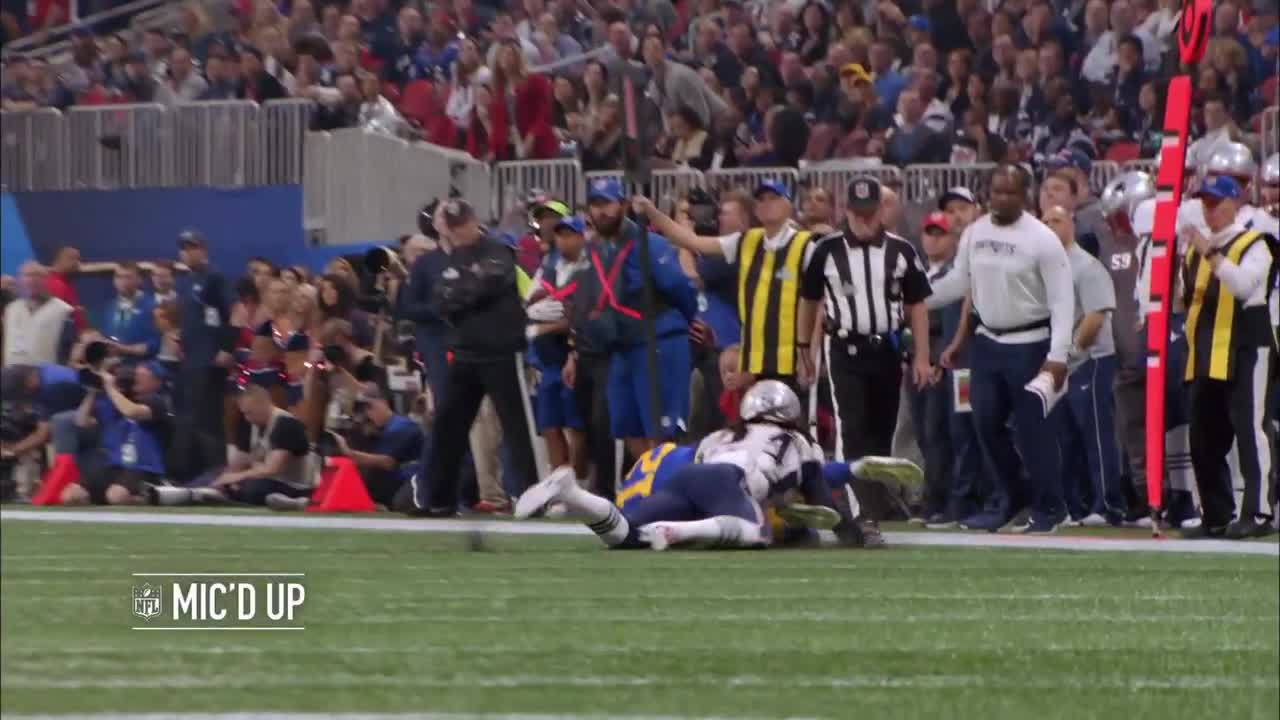 Mic'd Up: Players react to Brandin Cooks' would-be TD