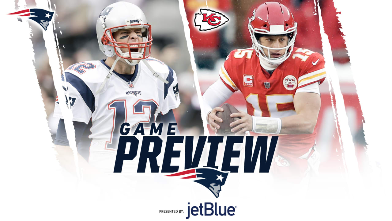 ab3c0cf27 AFC Championship Game Preview  Patriots at Chiefs