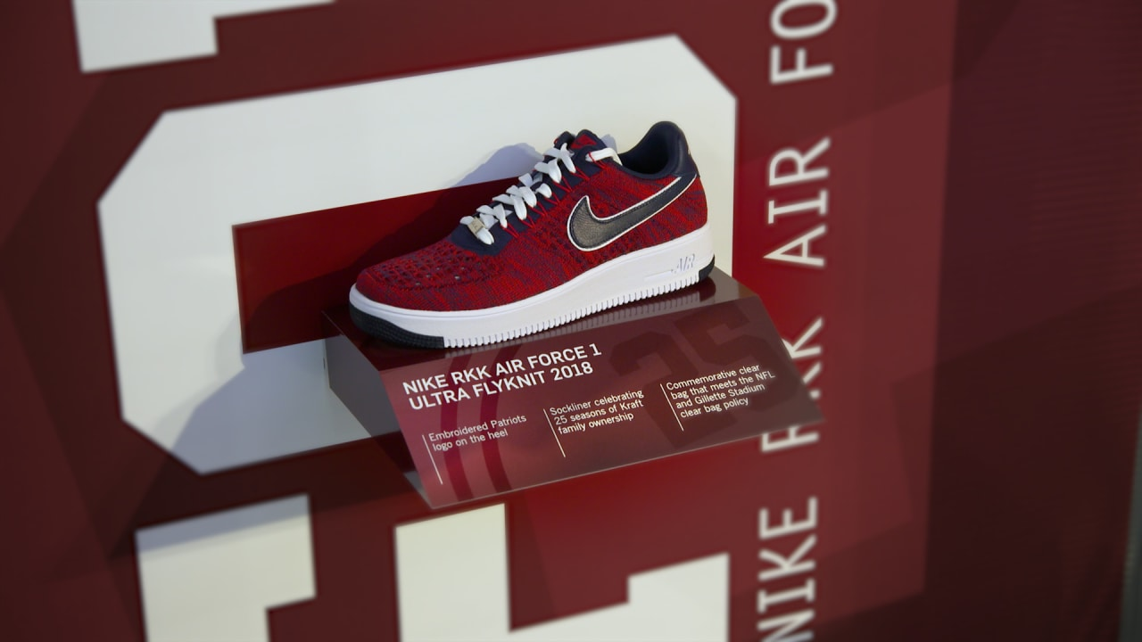 d4ac6dde2963 Robert Kraft unveils latest limited Air Force 1s for Boys and Girls Club