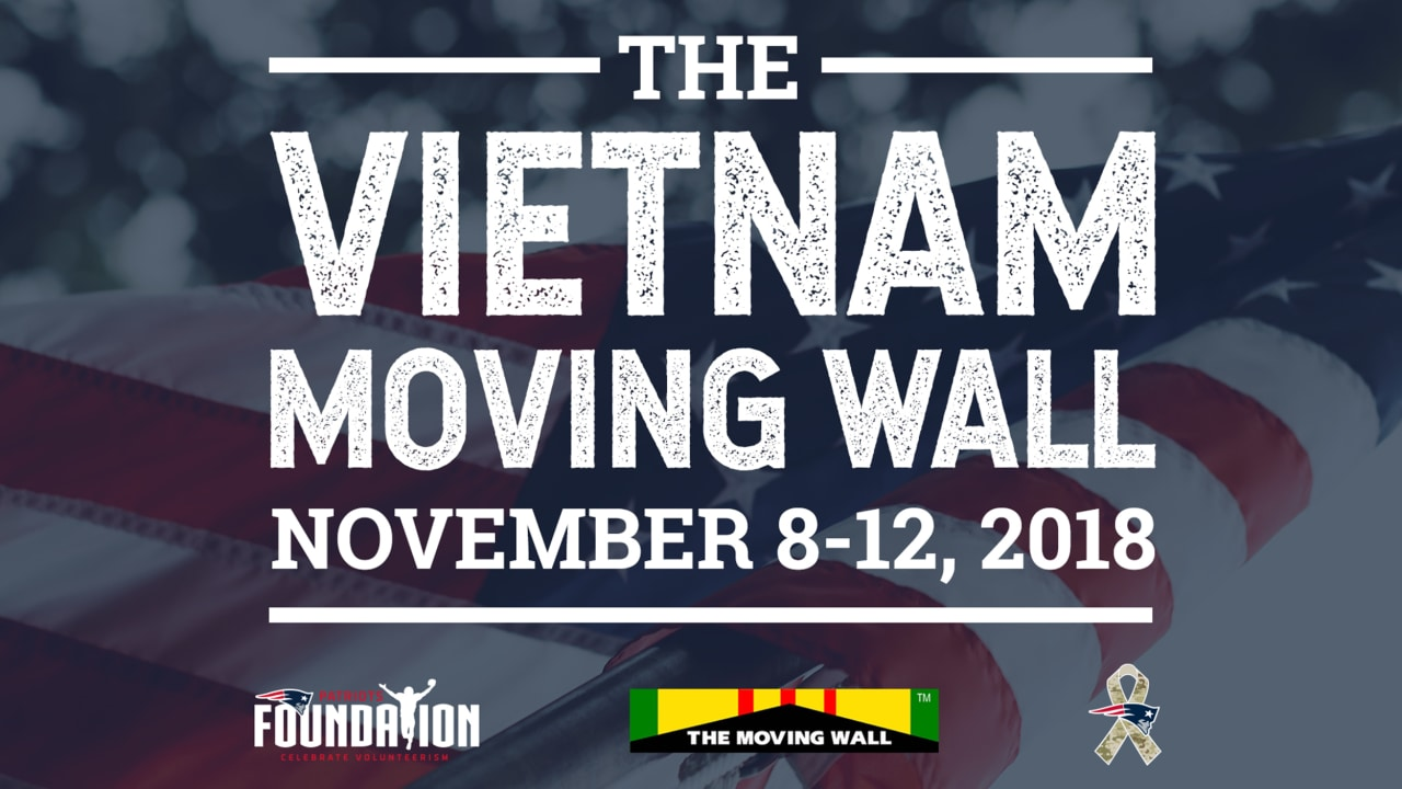 a666de3c0 The Kraft family and New England Patriots Foundation will host the Moving  Wall at Patriot Place during Veterans Day weekend
