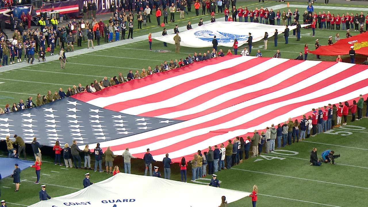 watch 73077 804a2 Patriots 'Salute to Service' pregame at Gillette Stadium