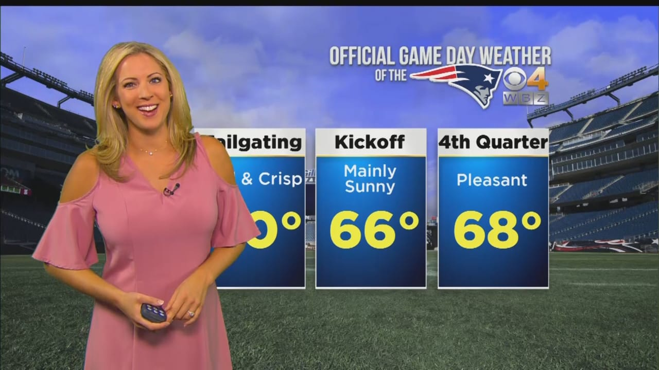 WBZ Weather Forecast for Patriots vs. Dolphins 0ec305aed