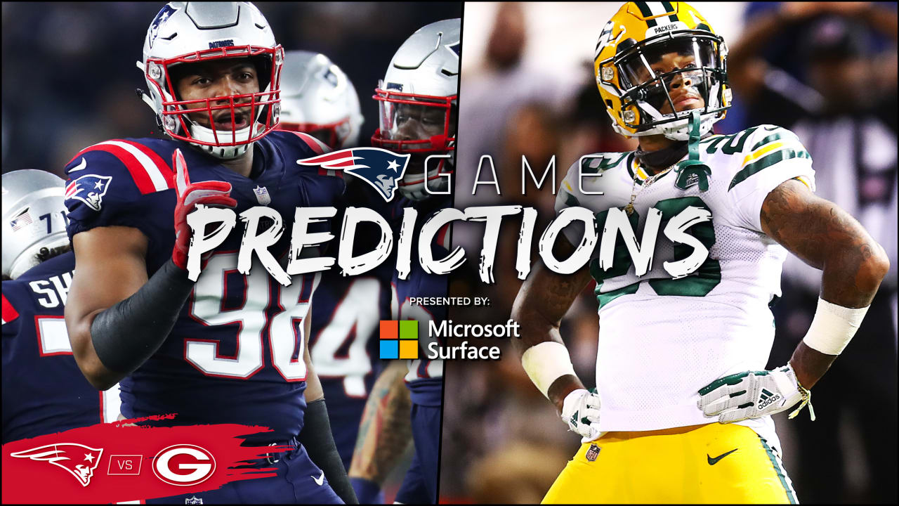 Game Predictions: Expert picks for Packers at Patriots